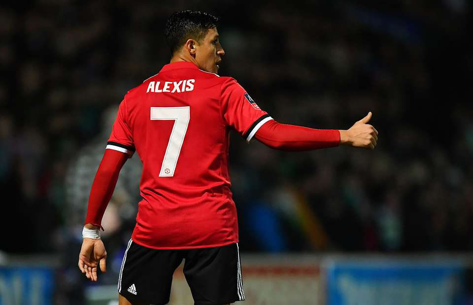 Alexis Sanchez - Manchester United's New Number 7