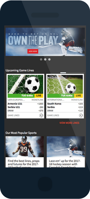 Bodog Canada Mobile Sports Betting 3