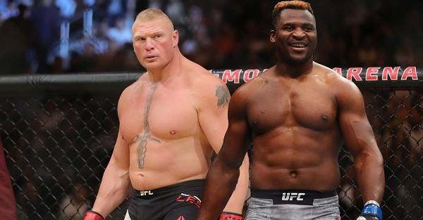 Lesnar vs Ngannou
