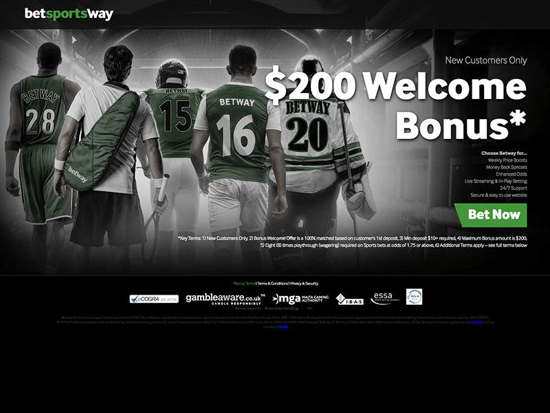 Betway Sportsbetting Review For 2018