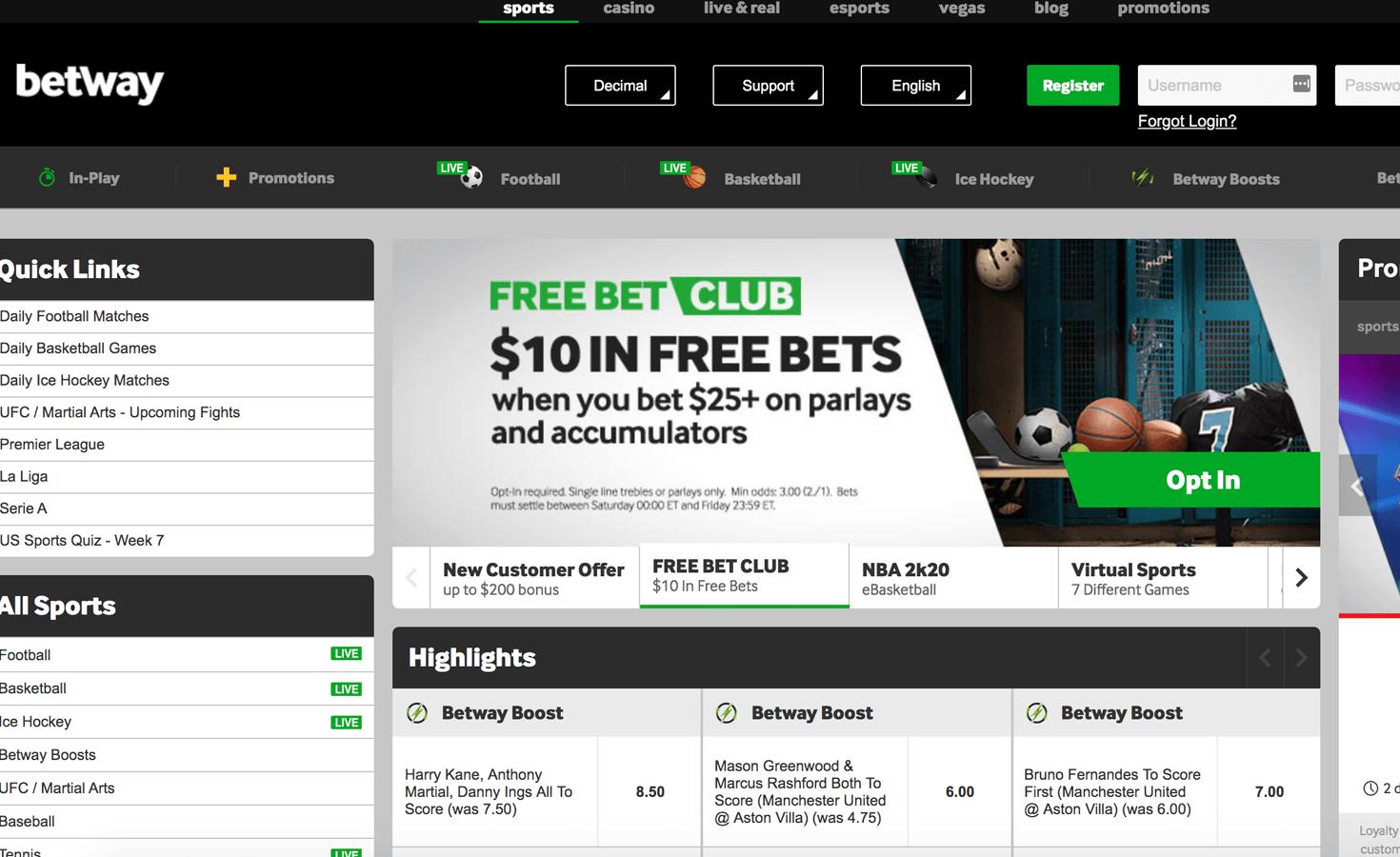 online nfl odds