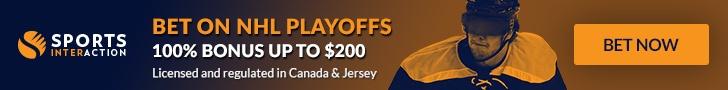 Bet on NHL Playoffs - 100% Sign Up Bonus up to $200